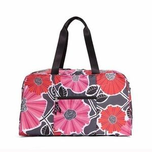 Vera Bradley Cheery Blossom Collapsible Duffel Bag